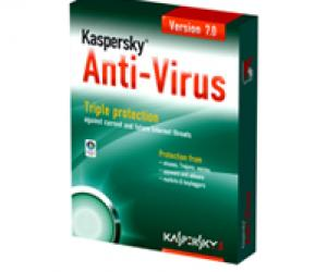 Kaspersky anti-virus 7. 0 + 64-bit windows vista.