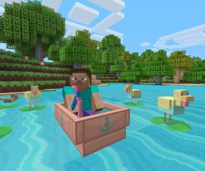 Minecraft Update And The Simpsons Dlc Coming To Ps4 Ps3 Ps Vita