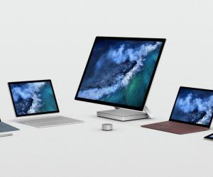 Microsoft Releases New Surface Book 2 Firmware on Windows 10 Version