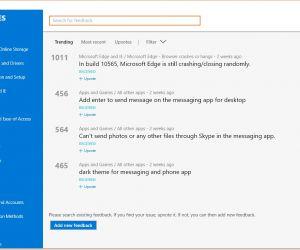 microsoft discontinues uservoice windows and windows phone feedback sites