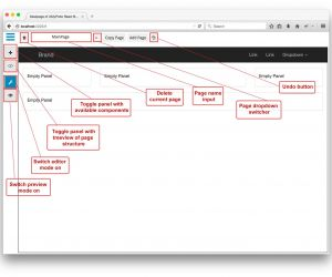 how to create gui app visual studio angularjs python