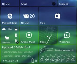 how to refresh windows 10 live tiles