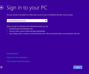 Windows 10 Preview to Make Microsoft Accounts Mandatory
