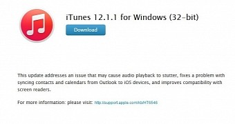 Apple Releases iTunes 12 1 1 for Windows