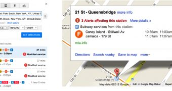 Google Maps Now Notifies About Planned Schedule Changes in the NY Subway