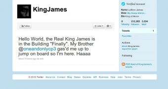 king james twitter