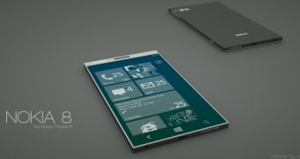 Nokia 8 Windows Phone 8 Concept Is Incredibly Thin and Elegant