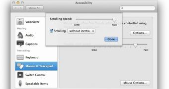 OS X: How to Adjust Mouse Scrolling Speed, Inertia