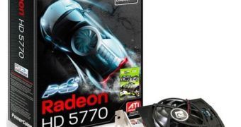 PowerColor Releases Overclocked Radeon HD 5770 PCS+