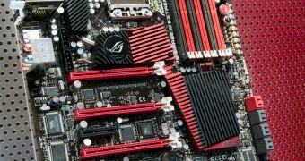 ROG X58 from ASUS Supports Quad SLI and CrossFireX
