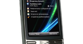 RoverPC P7, Windows Mobile 6 1 with Russian Flavor