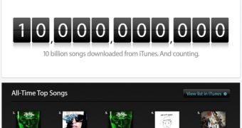 Someone Downloaded the 10 Billionth Song on iTunes'