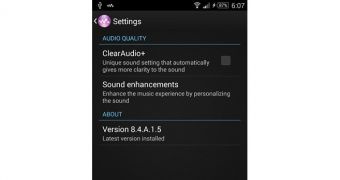 Sony Walkman 8 4 A 1 5 App Now Available for Xperia Handsets