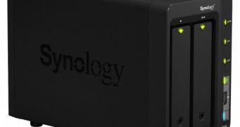 Synology Outs DS-712+ NAS Server with Gigabit Link Aggregation