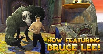 Temple Run 2 for Android/iOS Adds Bruce Lee as Playable Character