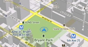 More Details on Vector Graphics and 3D Mode in Google Maps ... on google maps lite, google maps full screen, google maps street view, google maps gps, google maps helicopter, google maps mobile, google maps 2d, google app ios 6 maps, google maps menu, google maps india, google maps logo,