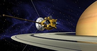Cassini Probes Icy Fountain on Saturn's Moon Enceladus