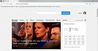 microsoft edge on windows 10 fall creators update