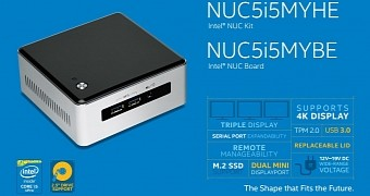 Intel NUC5i5MY NUC Benefits from New BIOS - Download Version