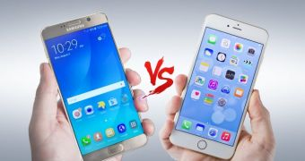 mobile spy iphone 7 vs galaxy note 7