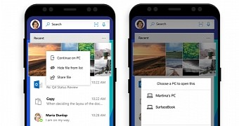 Microsoft Launcher for Android Mimics Apple's Handoff Feature