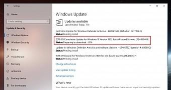 Microsoft Releases Windows 10 Version 1803 Cumulative Update