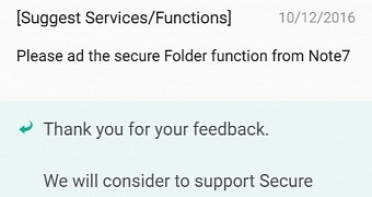 """Samsung Could Bring Note 7 Exclusive """"Secure Folder"""" Feature"""