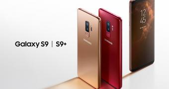 Samsung Galaxy S9 and S9+ Now Available in Sunrise Gold & Burgundy Red Editions