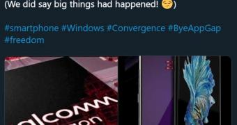 Someone Wants to Launch a Windows Phone with Android App Support