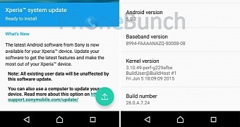 Sony Xperia Z3+ Receives Small Software Update That Should