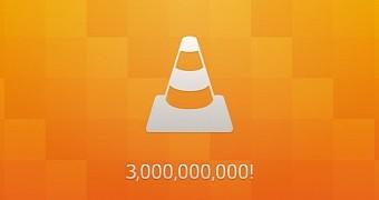 VLC passes 3 billion downloads
