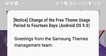 Wut? Samsung Will Allow Free Themes on Android Pie to Be Used for