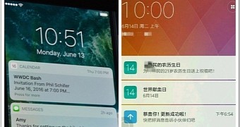 Xiaomi Fans Laugh at Apple, Show iOS 10 Copies MIUI Android ROM