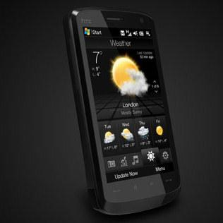 application pour htc touch hd t8282