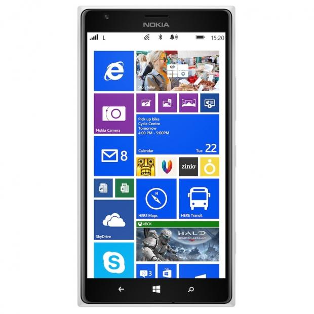 Nokia Lumia 1520 Phablet Goes Official with 6-Inch Display ...