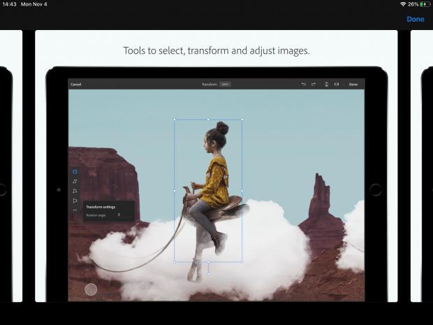 Adobe Photoshop untuk iPad