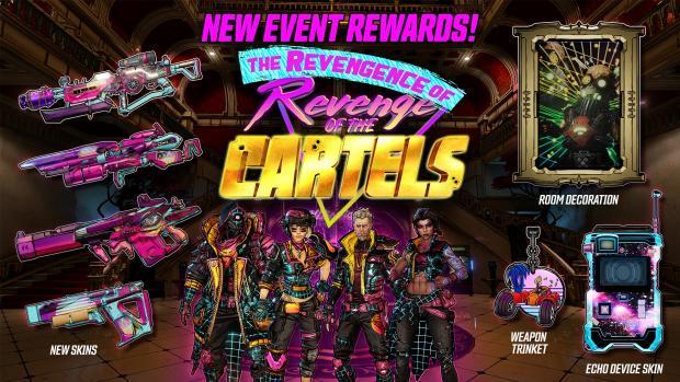 Borderlands 3 new event rewards