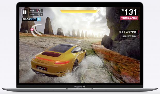 Asphalt 9: Legends berjalan di Mac