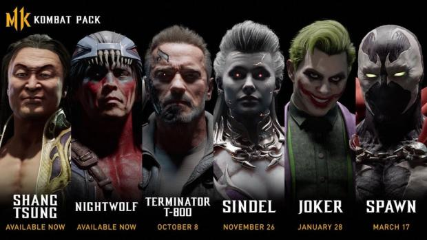 Mortal Kombat 11 Adds Terminator and The Joker as Guest Characters