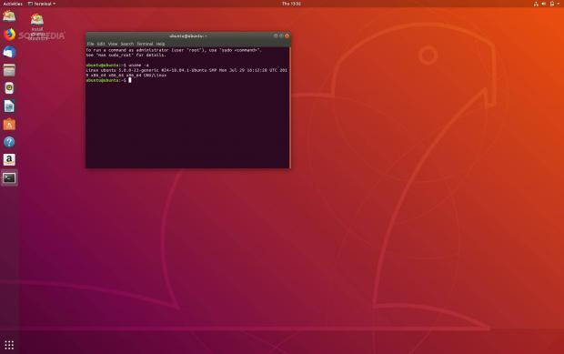 Ubuntu 18.04.3 LTS running Linux kernel 5.0