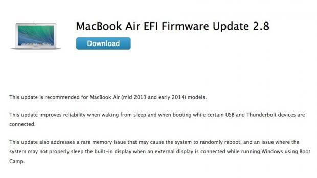 Apple Fixes MacBook Air Random Reboots with EFI Firmware 2 8