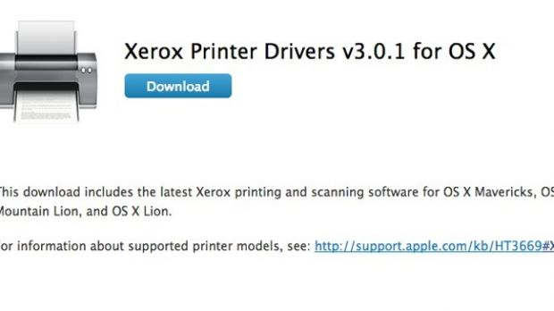 xerox printer driver download