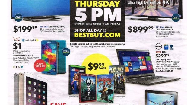Black Friday Smartphone Deals at Walmart and Best Buy Are
