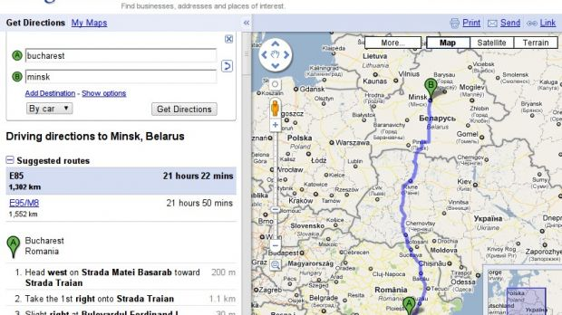 Driving Directions for Google Maps Now Available in 111 More ... on shortest route driving directions maps, world long distance relationship maps, get map driving directions bing, get map of address, distance and direction maps, mapquest driving directions maps, easy driving directions maps, driving directions truck route maps, direction direction driving google road maps,