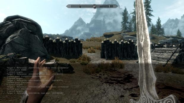 How to Use the Skyrim Console to Get Past Broken Quests on
