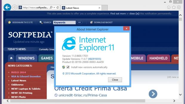 Microsoft internet explorer update for windows 7 | Download And