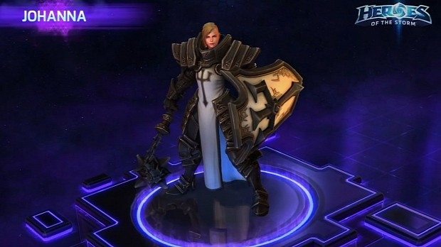 Kael'thas Coming to Heroes of the Storm on May 12, Johanna