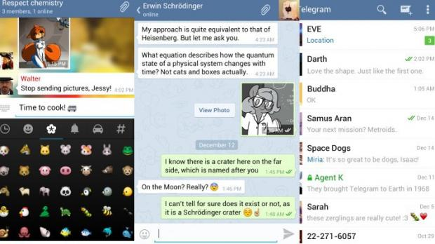 Telegram for Android 1 5 0 Now Available for Download