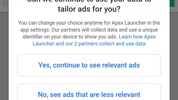 Apex Launcher 4 0 for Android Removes Settings and Features, Brings Ads