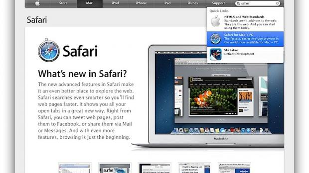 Apple's Browser Growing Faster than Microsoft's Despite Lack of
